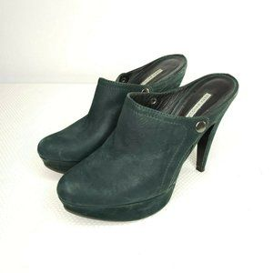 Vera Wang Lavender Collection Platform Green 9.5